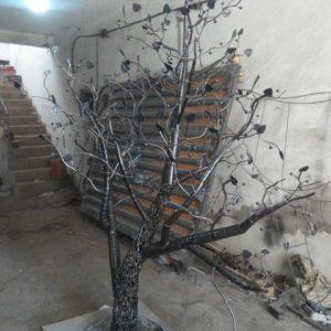 Sculpture arbre modèle 2