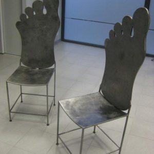 Chaise modèle Foot Step