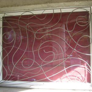Garde corps, grille de fenêtres Modèle 2