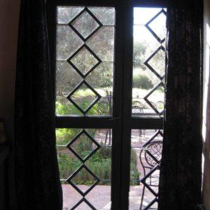Garde corps, grille de fenêtres Modèle 4