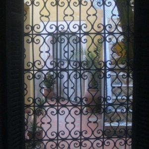 Garde corps, grille de fenêtres Modèle 6