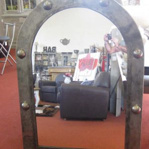 Miroir en acier modèle HARRY