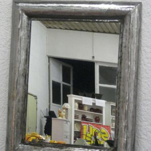 Miroir en acier modèle MINERAL rectangle