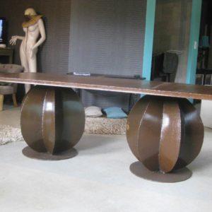 Table de salle à manger modèle SAND